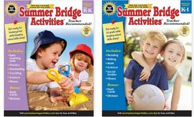 Summer Bridge Activities Activity Books for Grades