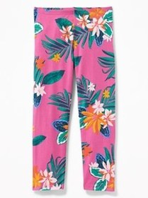 Printed Cropped Leggings for Girls