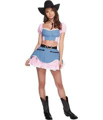 Melonhopper Rodeo Royalty Cowgirl Costume