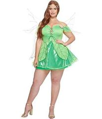 Melonhopper Plus Size Forest Fae Fairy Costume