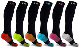 XTF Unisex Copper-Infused Knee-High Compression So