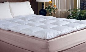 "Hotel Peninsula Cotton 2"" Featherbed"