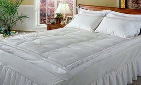 """All Seasons Luxury 5"""" Down Pillow Top Featherbed"""