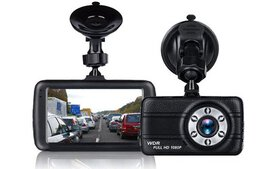 Full 1080P Dash Cam w/ 170 Degree Super Wide Angle