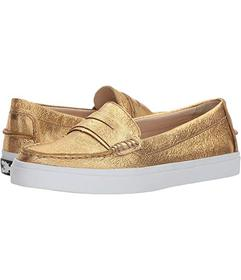 Cole Haan Gold Soko Wash/Ch Gold Leather/Optic Whi