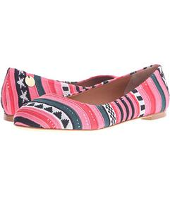 M Missoni Star Stripe Pink Ballet Shoes