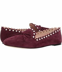 Kate Spade New York Deep Cherry Kid Suede