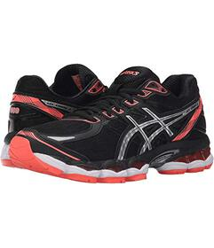 ASICS Black/Silver/Flash Coral