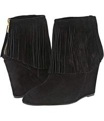 Chinese Laundry Arctic Fringe Wedge Bootie
