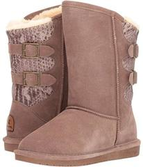 Bearpaw Taupe Suede