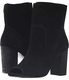 Chinese Laundry Black Split Suede