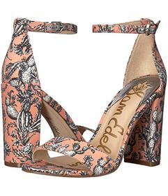 Sam Edelman Orange Multi Cactus Garden Print