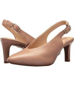 Clarks Beige Leather
