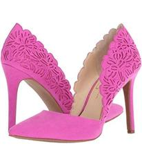 Jessica Simpson Hot Shot Pink Microsuede