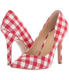 Charles by Charles David Red/White Gingham