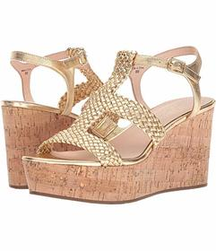 Kate Spade New York Old Gold Woven Nappa