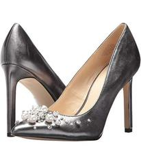 Nine West Pewter Synthetic