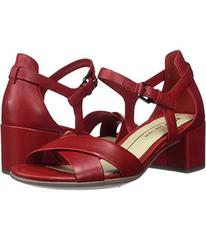 ECCO Chili Red Calf Leather