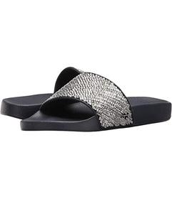 Salvatore Ferragamo PVC Pool Slide With Crystals