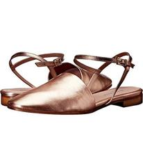 Charles by Charles David Rose Gold Metallic Leathe