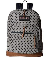 JanSport Silver Twiggy Dot Jaquard