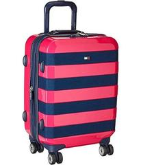 """Tommy Hilfiger Rugby Stripe 21"""" Upright Suitcase"""