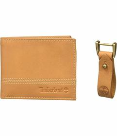 Timberland Quad Billfold with Matching Fob