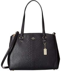 COACH Stamped Snakeskin Stanton Carryall