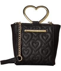 Betsey Johnson Heart Handle Crossbody
