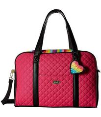 Luv Betsey Cruzin Cotton Weekender w/ A Luggage Pa