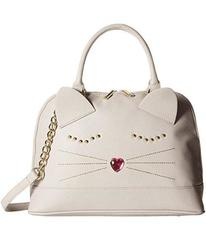 Betsey Johnson Cat Dome Satchel