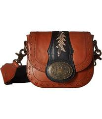 Frye Buckle Mini Saddle