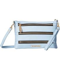 Rampage Triple Zip Convertible Crossbody