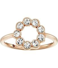Fossil Narrow Cocktail Ring with Glitz