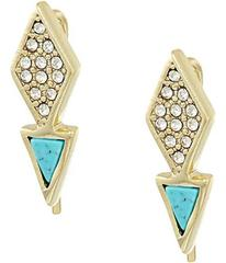 Vera Bradley Triangle Stud Earrings