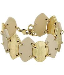 Lucky Brand Leather Link Bracelet
