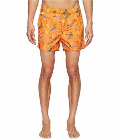 Missoni Mare Mare Printed Birds Nylon Swim Trunks