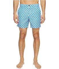Ben Sherman Optical Mod Stripe Effect Print Swimsu