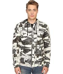 Just Cavalli Camowork Print Hooded Sweater