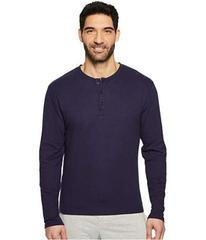 Kenneth Cole Reaction Long Sleeve Waffle Crew Sing