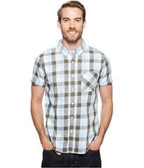 United By Blue Short Sleeve Everett Plaid Shirt
