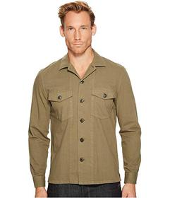 7 For All Mankind Long Sleeve Military Shirt