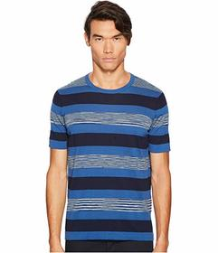 Missoni Fiammato Rigato Short Sleeve Knit