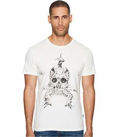 Just Cavalli Feathered Skull T-Shirt