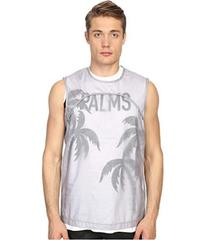 DSQUARED2 Double Layer Jersey Tank Top