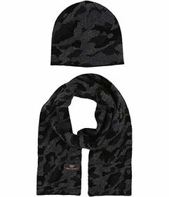 UGG Kids Camo Beanie and Scarf Boxed Set (Toddler\