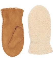 UGG Exposed Curly Pile Mitten (Toddler/Little Kids