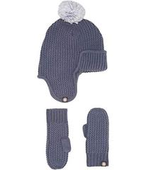 UGG Trapper Hat/Mitten Gift Set (Toddler/Little Ki