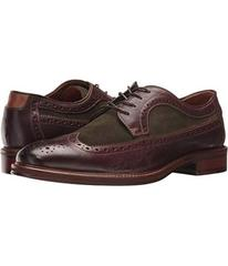 Johnston & Murphy Dark Brown Soft Full Grain/Olive