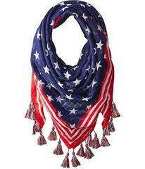 Steve Madden Stars and Stripes Square Day Wrap